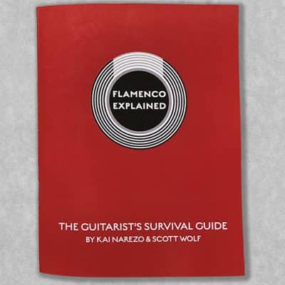 Flamenco guitar method book - Flamenco Explained The Guitarist's Survival Guide - Front Cover