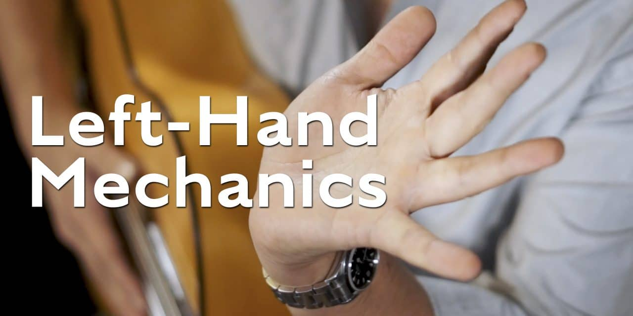 Left-Hand Mechanics for flamenco guitar